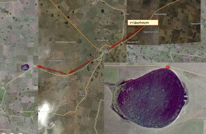 Озеро Кадал схема